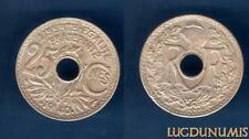 III République 1871-1940 - 25 Centimes Lindauer .1940. SUP Point avant et après