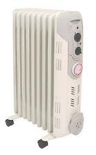 Prem-I-Air Eco-Friendly 2kW 9 Fin Oil Filled Radiator Heating Heater 24hr Timer