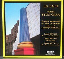 Bach Cantates 82a, 199 & 202 Teresa Zylis-Gara Domnique Debart LP & CV NM