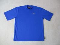 Nike Florida Gators Shirt Adult Medium Blue Orange UF Dri Fit Football Mens A34*