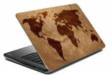 """Map Laptop Skin Notebook Skin Sticker Cover Art Decal Fits 14.1"""" to 15.6""""5e"""