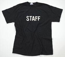Neu All Star Converse T-Shirt Herren Promo Hanes Shirt Chucks Schwarz Staff Gr.L