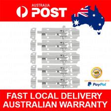 5pcs Steel Lock Barrel Bolt Latch Slide Home Office Cabinet Cupboard Door Window