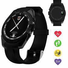 Heart Monitor Bluetooth Smart Watch Clock For Samsung S7 S6 S5 LG G3 G4 G5 K7 K8