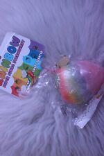LICENSED Puni Maru JUMBO Rainbow Strawberry Squishy