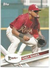 Andy Ibanez Texas Rangers 2017 Topps Pro Debut