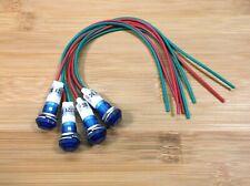 4 BBT 12 volt Blue LED Low-Profile Courtesy Lights