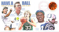 "COVERSCAPE computer generated ""Have A Ball"" 2017 commemorative sports U/O fdc"