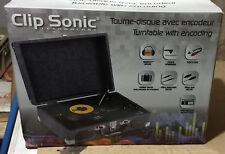Tourne-disque avec encodeur intégré ClipSonic TES130 NEUF