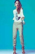 Pantalone Denny Rose beige 45DR22004 Taglia 40