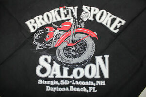 Broken Spoke Saloon bandana Sturgis, SD Laconia, NH Daytona Beach FL EP24131