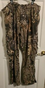 Mens 2XL Camo Pants Scent Lok Pant Insulated Soft Fleece Warm Hunting Pants Camo