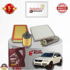 Kit de Mantenimiento Filtros + Aceite VW Touareg 2.5Tdi 120kw 163cv 2004 - >2010