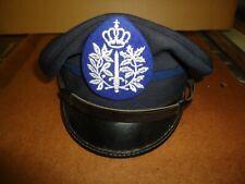 casquette de police belge