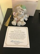 Lenox Teddys Sweetest Christmas, The 2005 Annual Teddy Bear Ornament