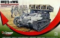 UE (F) -swg 40/28 Wk Spr WW II Alemán Cohete Lanzadera (WEHRMACHT MKGS) 1/35