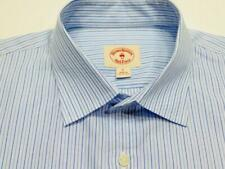 BROOKS BROTHERS RED FLEECE Stripe Woven Long Sleeve Shirt L