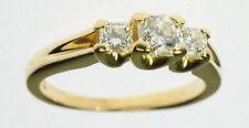 Lady 18K Hearts On Fire Hof Diamond Three 3 Stone Engagement Ring J224004