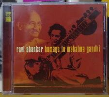 RAVI SHANKAR HOMAGE TO MAHATMA GANDHI COMPIL' COMPACT DISC EDGE MUSIC 2004