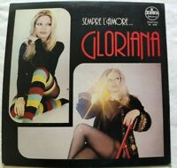 GLORIANA LP SEMPRE L'AMORE 33 GIRI VINYL ITALY 1980 ZEUS RECORD BE0099 NM/NM