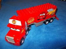 Lego Duplo Cars Mack auf großer Fahrt aus 5816 LKW + ANHÄNGER
