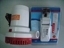 New Propump Automatic 2000 GPH Marine Bilge Pump with Float Switch
