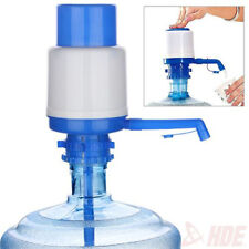 5 & 6 Gallon Manual Water Bottle Jug Hand Pump Dispenser Camping Drinking Spigot
