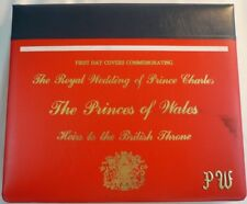 1981 Royal Wedding Princess Diana First Day Covers FDC Commonwealth NO RESERVE