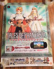 Tales of Phantasia Official Promo Store Poster 2006 PSP Namco Playstation RPG JP