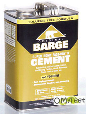 Barge Original Super Bond Fast-Dry TF Rubber Contact Cement Glue Adhesive Gallon