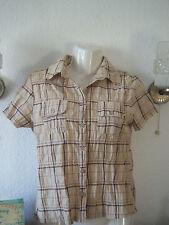 Markenlose gestreifte Damenblusen, - tops & -shirts aus Baumwollmischung
