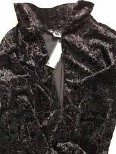 Skea Shimmies XL, Black Embossed Paisley Long Zip NEW!