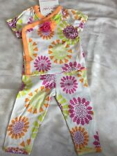 Girls 6 Months Boutique BABY LULU Bliss Patty Set 2pc Outfit NEW NWT Kimono