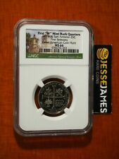 2019 W 25C SAN ANTONIO MISSIONS QUARTER NGC MS66 FIRST RELEASES GA COIN HUNT