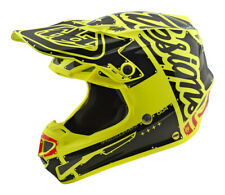 Troy Lee Designs TLD YOUTH SE4 Polyacrylite Factory Helmet Yellow MX Moto ATV