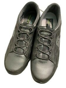 SKECHERS  WOMENS SHOES 8.5 GRAY AIR COOLED MEMORY FOAM