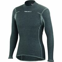 Castelli Flanders Warm Bicycle Cycle Bike Base Layer Grey
