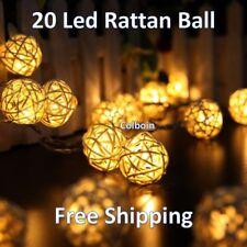 String Fairy Ball Led Decor Lights Party Wedding Light Globe Christmas Decor