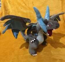 "Pokemon Mega Charizard X 12"" / 30cm Plush Soft Toy Teddy - BRAND NEW & Tagged"