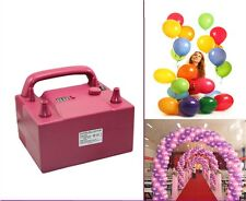 Timing High Power Electric Balloon Inflator Air Pump with Two Nozzles Decoration