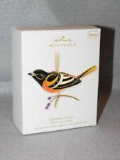 Hallmark 2011 Beauty of Birds Baltimore Oriole 7th in Series