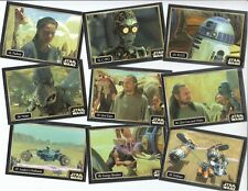 Star Wars Episode 1 Phantom Menace Ikon Australian - 60 Card Silver Parallel Set