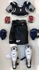 New Powertek Youth Ice Hockey Complete Equipment set kit package Small/Medium jr
