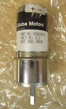 LABINAL GLOBE MOTORS 415A159 2 5200 RPM 12 V DC Servo Motor Gear Motor 415A159-2