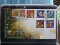 NEW ZEALAND 2003 CHRISTMAS DECORATIONS SET 7 STAMPS FDC FIRST DAY COVER