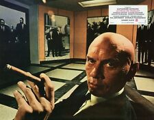 YUL BRYNNER THE MADWOMAN OF CHAILLOT 1969 VINTAGE LOBBY CARD  #2