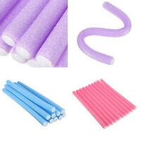 10Pcs DIY Styling Hair Rollers Curler Makers Soft Foam Bendy Twist Curls Tool