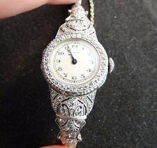 Tiffany & Co. Antique Vintage Diamond & Platinum Ladies' Watch