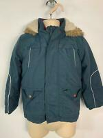 BOYS MARKS&SPENCER NAVY BLUE WINTER PADDED JACKET RAIN COAT KIDS AGE 4/5 YEARS