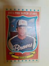 Kelloggs 1973 Phil Niekro Atlanta Braves